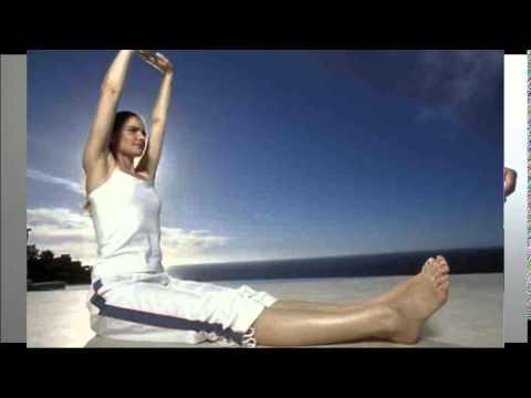Убрать бока и живот упражнения видео