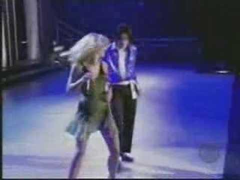 Michael Jackson y Britney Spears