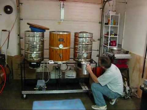Calco Supplys 5 Hour All Grain Brew day in 13 minutes Single Tier