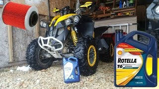 9. Can Am Renegade oil change