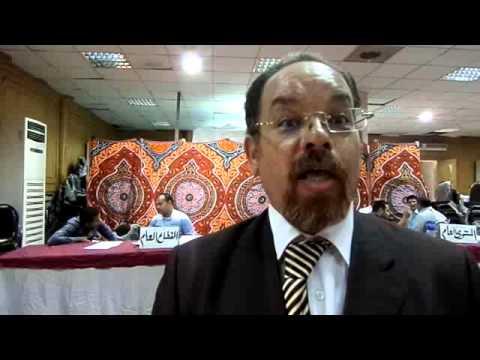 مصطفى شعبان يتقدم باوراق ترشيحة على مقعد المستوى العام بنقابة المحامين