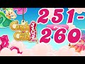 Candy Crush Jelly Saga Level 251 - 260