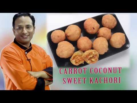 CARROT COCONUT SWEET KACHORI