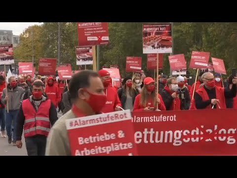 Covid-19:Διαδηλώσεις στην Ευρώπη-Σε απόγνωση ο κλάδος της εστίασης…