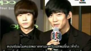 2PM Interview With Thai TV3 Thailand