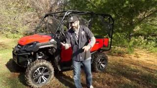 8. All New Honda Pioneer 1000-5 Deluxe! Demo Ride Along Review!