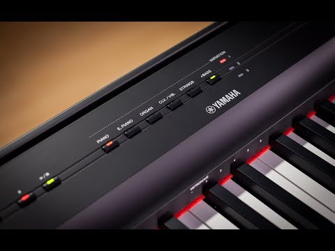Yamaha p-125wh – Piano Digital, Blanc