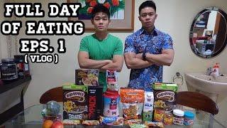 Video FULL DAY OF EATING eps. 1 (VLOG) MP3, 3GP, MP4, WEBM, AVI, FLV Januari 2018