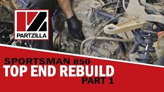 3. Polaris Sportsman Top End Rebuild Part 1: Engine Removal | Partzilla.com