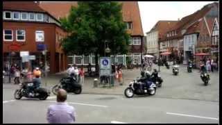 Harleys are leaving Plön (Michael Tegethof)