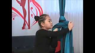 Aerial silk_daiquiri pole dance studio (воздушные полотна)_vladivostok
