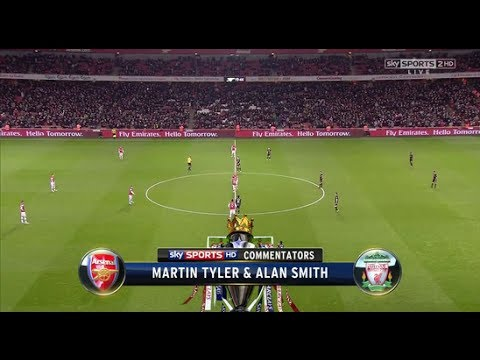 Arsenal Vs Liverpool (2-0) (Barclays Premier League) ALL GOALS & HIGHLIGHTS 02/11/13