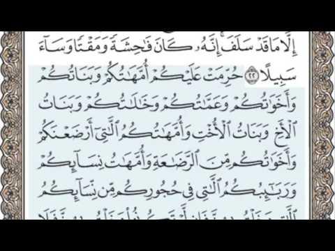 القرآن الكريم بالصفحات سماع وقراءة ص/ 81 الشيخ محمد صديق المنشاوي