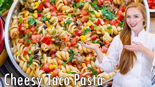 Cheesy Taco Pasta by Tatyana's Everyday Food