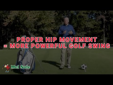 Proper Hip Movement = More Powerful Golf Swing