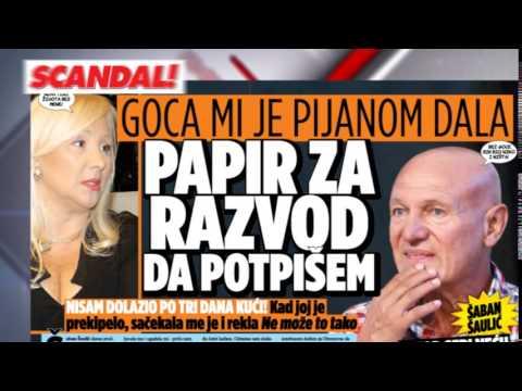 SKANDAL NOVINE: Daru ojadili za pola miliona evra, Šaban – ne mogu da oprostim sebi što ocu nisam otišao na sahranu, Milica – Kaću i mene su optužili za pokušaj ubistva