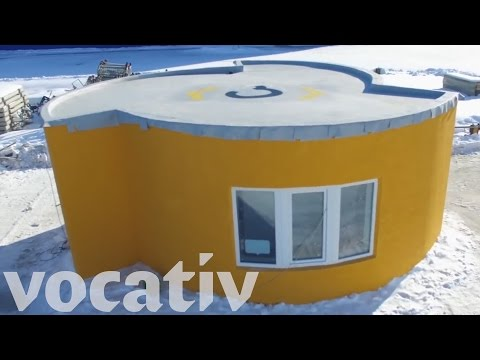 410 Square Foot House 3D Printed In 24 Hours For