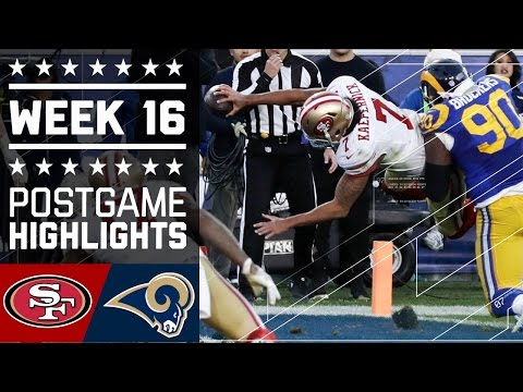49ers vs. Rams | NFL Week 16 Game Highlights