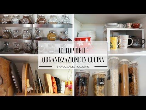 Top 10 dell'organizzazione in cucina
