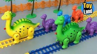 Video Dinosaur Train Toys Kids Video Funny Track Set for Kids TOYLAND MP3, 3GP, MP4, WEBM, AVI, FLV Juli 2018