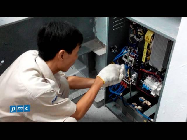 Vệ sinh bảo dưỡng UPS cứu hộ thang máy