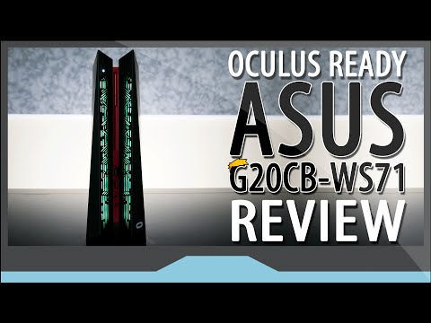 "The ""Oculus Ready"" ASUS ROG G20CB-WS71 Review (4K UHD!!)"