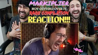 Markiplier Not Getting Over It (RAGE COMPILATION) - REACTION!!! by The Reel Rejects