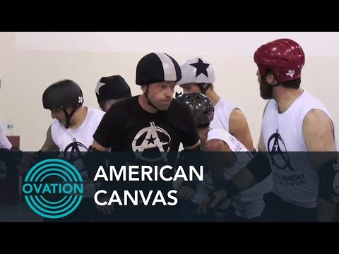 American Canvas - Dave Holmes Gets Beat Up in Roller Derby (Preview)