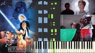 Follow me on Twitter: https://twitter.com/HariSivanMusicMay the force be with you when learning my piano cover / arrangement of Alliance Assembly from Star Wars: Episode VI - Return of the Jedi. Return of the Jedi OST was composed by John Williams. I hope this Synthesia piano tutorial is helpful! Please show your support by subscribing.My other Star Wars piano covers:Star Wars: The Last Jedi - Teaser Trailer Music - Piano (Synthesia)★ https://youtu.be/CBqbafY1MasStar Wars: The Last Jedi - Teaser Trailer Music - Piano★ https://youtu.be/V2CJAKOIyBsStar Wars: A New Hope - The Throne Room - Piano (Synthesia)★ https://youtu.be/xzVDWGJtTrMStar Wars: Return of the Jedi - Alliance Assembly - Piano★ https://youtu.be/bXH7pVKPywIStar Wars: A New Hope - The Throne Room - Piano★ https://youtu.be/jlRSuOyCf4MStar Wars: The Force Awakens - Rey's Theme - Piano (Synthesia)★ https://youtu.be/wnYGKY4gDXsStar Wars: The Empire Strikes Back - Lando's Palace - Piano (Synthesia)★ https://youtu.be/u8ccjzy1yzQRogue One: A Star Wars Story - Teaser Trailer Music - Piano (Synthesia)★ https://youtu.be/YMU1qildeRcRogue One: A Star Wars Story - Teaser Trailer Music - Piano★ https://youtu.be/lMiUF43s8ZMStar Wars: The Force Awakens - The Jedi Steps - Piano (Synthesia)★ https://youtu.be/q__nY56_144Star Wars: The Empire Strikes Back - The Rebel Fleet - Piano (Synthesia)★ https://youtu.be/7JfXfQYwGfIStar Wars: The Empire Strikes Back - Lando's Palace - Piano★ https://youtu.be/ur3jJ-BnayIStar Wars: The Force Awakens - Rey's Theme - Piano★ https://youtu.be/JCLeDVR4PKMStar Wars: The Force Awakens - The Jedi Steps - Piano★ https://youtu.be/IoKs_kKQIzQStar Wars - The Force Theme - Piano★ https://youtu.be/UCEuJ3jyyV0Star Wars: The Empire Strikes Back - The Rebel Fleet - Piano★ https://youtu.be/ulhtCc9dRLIStar Wars: The Force Awakens - TV Spot Music - Piano (Synthesia)★ https://youtu.be/qAfw65douzYStar Wars: The Force Awakens - TV Spot Music - Piano★ https://youtu.be/0V6ctF8N5nQStar Wars: The Force Awakens - T