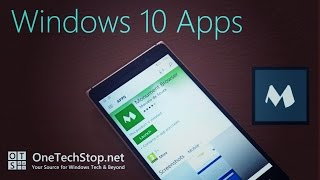 We take a look at an alternative to  Microsoft's Edge web browser on Windows 10 Mobile, Monument browsers offers some cool features such as multible tabs on screen at once, an experimental ad blocker and picture in picture capabilities.Download Monument browser from the Windows app store here: https://www.microsoft.com/store/apps/9nblggh1nsvjComments and questions are welcome, and you can visit our website: http://onetechstop.netFind us on Twitter: http://twitter.com/onetechstopAnd make sure you subscribe to catch our upcoming videos!