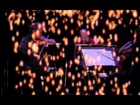 Kronos Quartet performs Terry Riley's Sun Rings