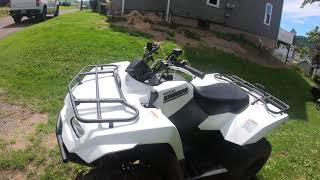3. 2019 Suzuki Kingquad 400 ASI Review