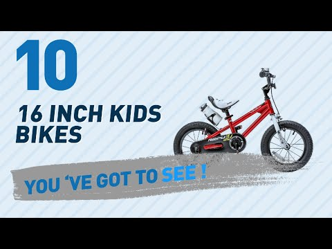 16 Inch Kids Bikes // New & Popular 2017