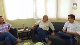 Na prefeitura presidente da Funpema tranquiliza população sobre atendimento