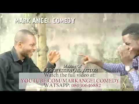The Making Of PROFESSIONAL ACTOR (Mark Angel Comedy)
