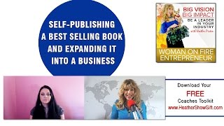 Episode #77 : Self-publishing a best selling book and expanding it into a business with guest Claudi