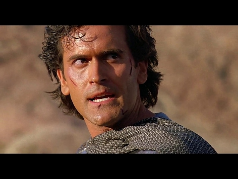 Army of Darkness 1992 || Bruce Campbell, Embeth Davidtz