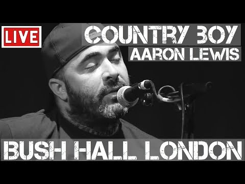 Aaron Lewis – Country Boy (Live & Acoustic) @ Bush Hall, London 2011