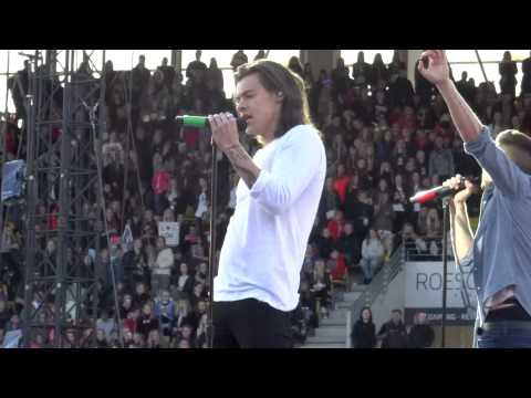 Where Do Broken Hearts Go - One Direction - OTRA Horsens 16/06/2015 (видео)