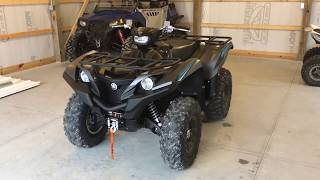 8. 2018 Yamaha Grizzly 700