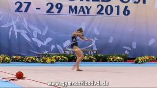 Nastasija Gvozdic (SRB) - Junior 22 - Sofia Cup 2016Order VideoDVDs: http://gymnasticsdvd.de/shop/pi.php/International-Sofia-Cup-2016.htmlMore Videos and DVDs at http://www.gymnasticsdvd.deSubscribe my Channel: http://www.youtube.com/subscription_center?add_user=voltigierclipsRhythmic Gymnastics International Sofia Cup 2016