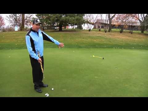 Professional Golf Tip: How to Read a Putt