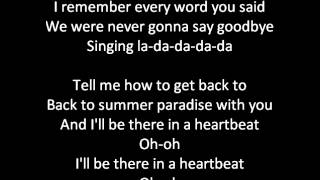 Simple Plan ft K'naan - Summer Paradise (lyrics on screen)