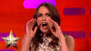 Keira Knightley Talks Sex Scenes - The Graham Norton Show
