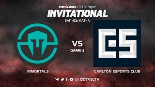 Immortals против Carlton Esports Club, Вторая карта, SL i-League Invitational S4 NA Квалификация