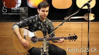 Download Lagu Furch G25-CR acoustic guitar played by Bálint Füstös in Stageshop Mp3