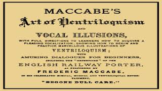 Maccabe's Art of Ventriloquism and Vocal Illusions | Frederic Maccabe | Crafts & Hobbies | 1/2