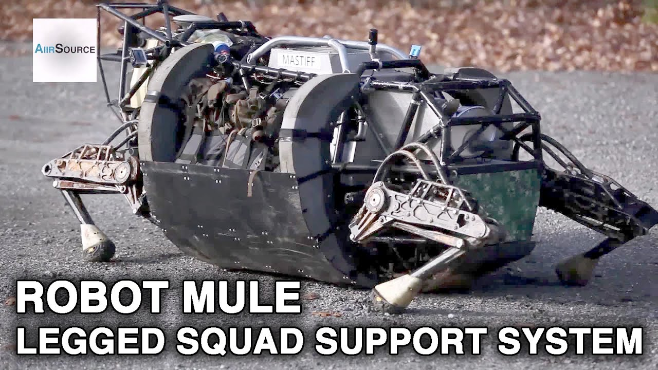 Boston Dynamics LS3 Robot – World's MOST ADVANCED Military Robotics