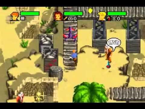 the mummy game boy advance cheats