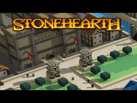 real time - First look at Stonehearth Pre-pre-alpha! Kickstarter Page: http://kck.st/168OXua Website: http://www.stonehearth.net Steam (Greenlight): http://bit.ly/10Qb97...